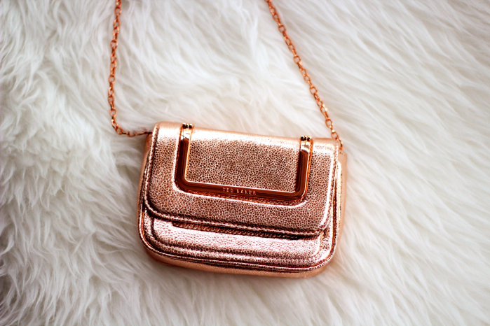 monday inspiration rose gold ted baker bag pinterest