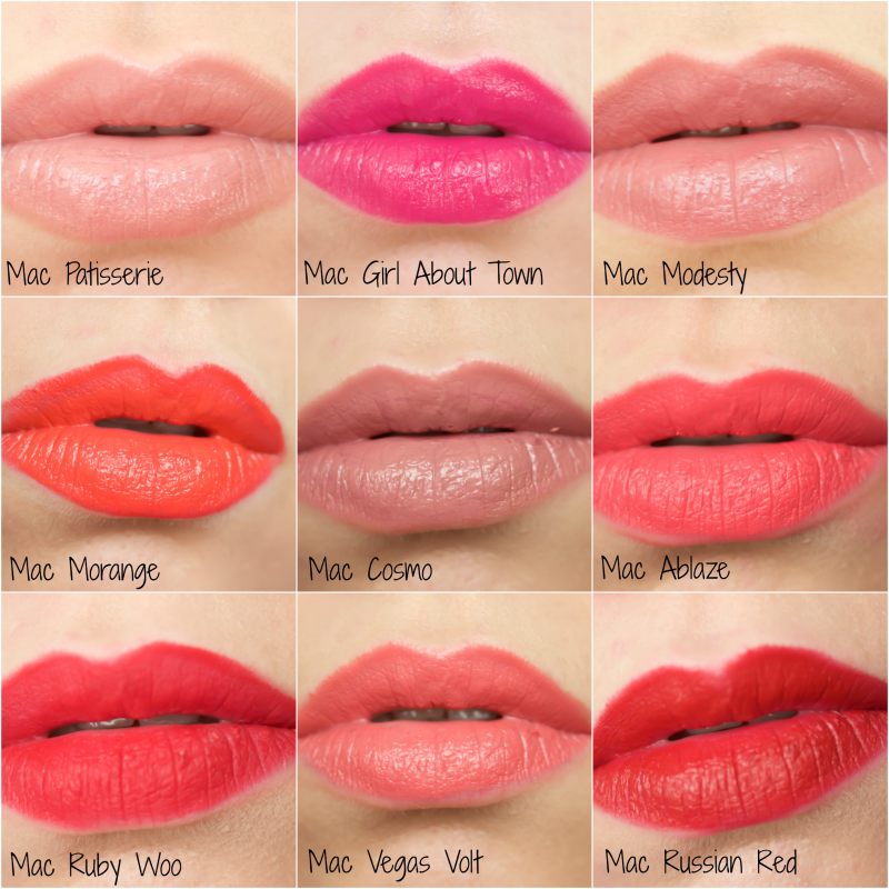 mac matte lipstick stain summer look many shades 100