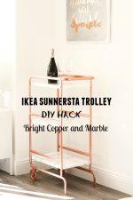IKEA SUNNERSTA Bar Cart Hack | DIY